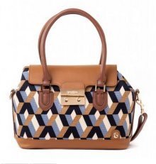 Bateau Bleu Push Lock Satchel by Spartina 449